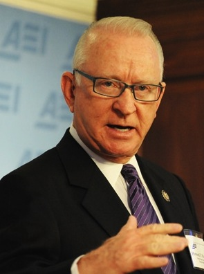 Rep. Buck McKeon, chairman of the House Armed Services Committee and top recipient of defense industry contributions.
