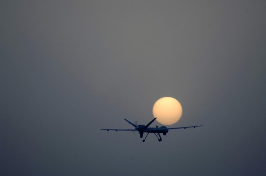 Reaper over Iraq