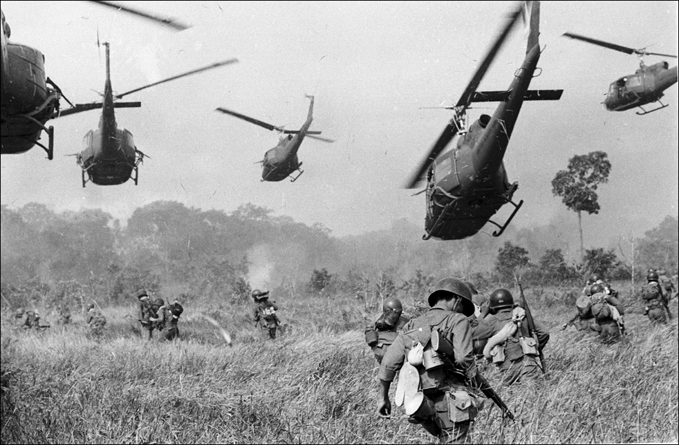 U.S forces in Vietnam, 1962 Credit: Horst Faas
