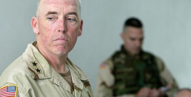 Maj. Gen. Geoffrey Miller in Iraq