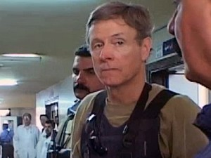 Col. James Steele in Iraq Credit: The Guardian