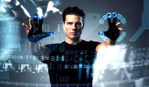 "Tom Cruise plays ""PreCrime"" Cop in ""Minority Report"""