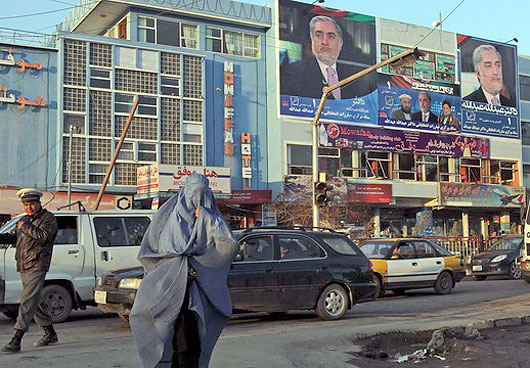 Violence against campaigners has been reported in the city of Herat this month