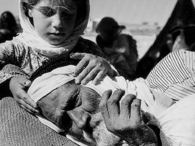 Most Palestinians became refugees when Israel was established atop the ruins of their homes