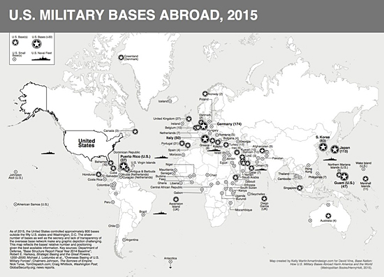 us foreign military bases as of 2015 source basenation us